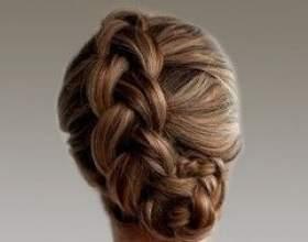 Плетение кос на средние волосы фото