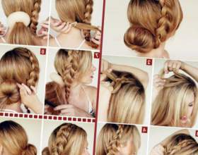 Плетение косичек на длинные волосы фото