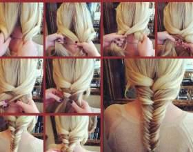 Плетение косичек на средние волосы фото