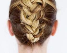 Плетение косичек на средний волос - инструкции фото