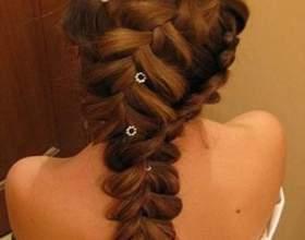 Плетения для длинных волос фото