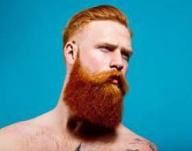 Почему борода рыжая фото