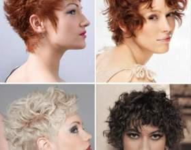 Подбираем короткую стрижку для вьющихся волос фото