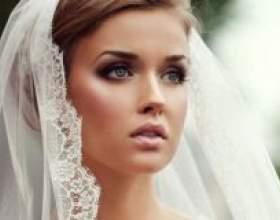 Подбираем свадебную прическу с фатой на средние волосы, практическое руководство фото