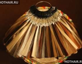 Подбор прядей для наращивания волос по цвету фото