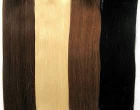 Подбор прядей для наращивания волос по структуре фото