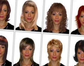 Подбор стрижки по форме лица фото