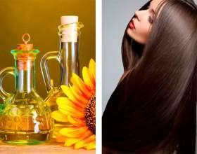 Подсолнечное масло для волос фото
