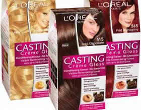Популярные цвета краски для волос лореаль кастинг фото