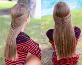 Повседневные прически с плетением на длинные волосы. Фото и видео-уроки фото