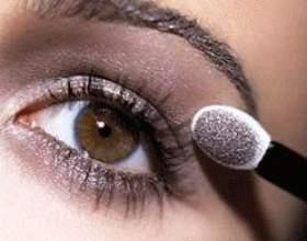 Правильный макияж для карих глаз фото