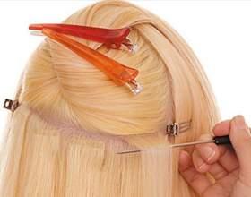 Преимущества ленточного наращивания волос фото