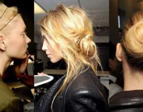 Прическа гулька из волос, фото фото