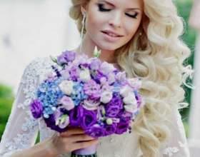 Прическа невесты на длинные волосы фото
