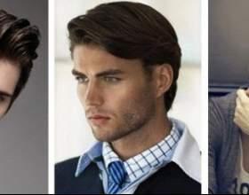 Прически для мужчин на волосы средней длины фото