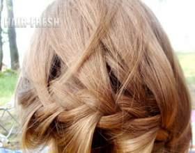 Прически для средних волос: для девочек фото