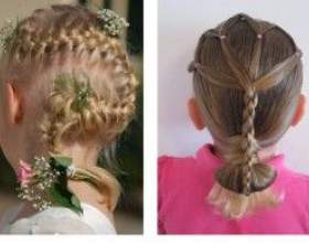 Прически на длинные волосы детские фото