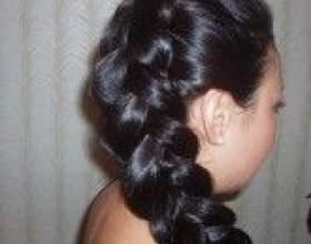 Прически на длинные волосы с косами фото