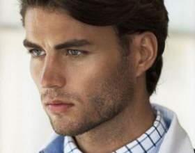 Прически на средние волосы мужские фото