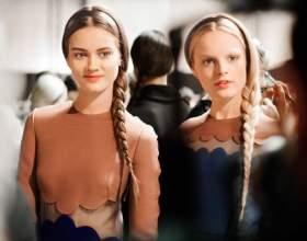 Прически с подиума: идеи для причесок с плетением фото