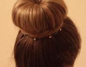 Причёска бабетта своими руками — пошаговый фотоурок + видео фото
