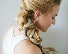 Причёска плетение из жгутов фото
