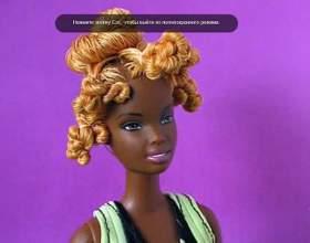 Причёски для кукол барби фото