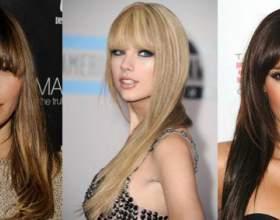 Причёски на длинные волосы с чёлкой фото