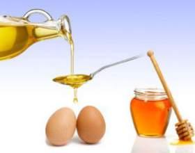 Применение маски для волос с яйцом, медом и маслом фото