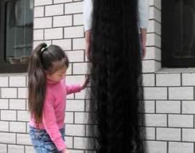 Самые длинные волосы в мире. фото