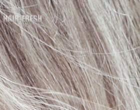 Серые волосы: оттенки фото