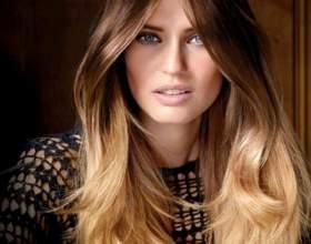 Шатуш на темные волосы – новый имидж без вреда для волос фото