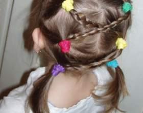 Современные прически маленьким девочкам и юным девушкам фото