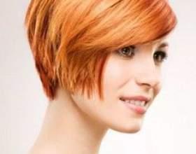 Стрижка боб для волос средней длины фото