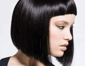 Стрижка с короткой челкой на средние волосы: выбираем оптимальную форму фото