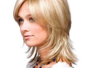 Стрижка шапочка для волос средней длины фото