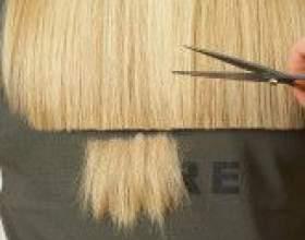 Стрижка волос горячими ножницами фото