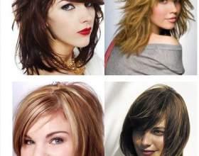 Стрижки 2014 на средний волос фото