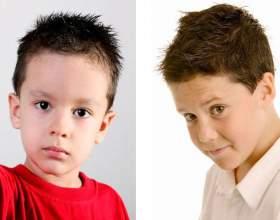 Стрижки для мальчиков 6-7 лет фото