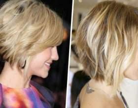 Стрижки на тонкие средние волосы фото