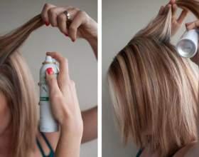 Сухой шампунь для волос - отзывы фото