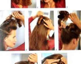 Свадебная прическа на средние волосы с фатой своими руками фото