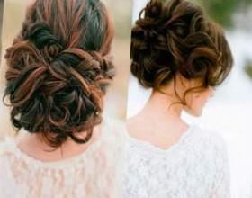 Свадебная прическа на волосы до плеч фото