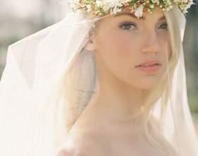 Свадебная прическа под фату фото