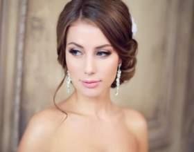 Свадебная прическа пучок с фатой фото