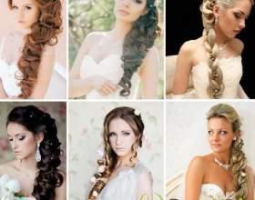 Свадебная прическа с косой – нежно, трепетно, изящно фото
