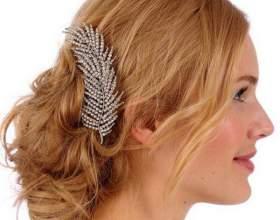 Свадебные аксессуары для волос (фото) фото