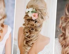Свадебные косы на длинные волосы фото
