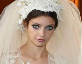 Свадебные красивые прически с фатой фото