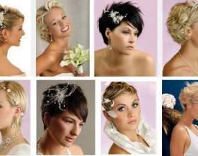 Свадебные прически 2014 на длинные, средние, короткие волосы фото